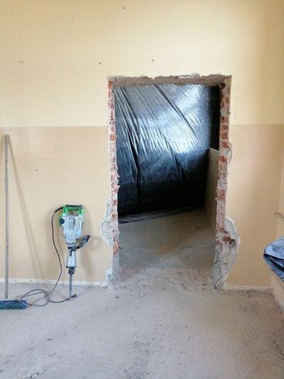 Likwidacja barier architektonicznych w budynku Samorządowego Przedszkola Krasnala Hałabały w Wielopolu Skrzyńskim