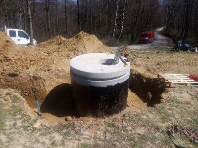 Budowa ujęcia wody BR-2 wraz z siecią wodociągową i instalacją elektryczną w miejscowości Broniszów.