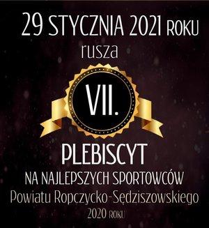 VII Plebiscyt na Najlepszych Sportowców Powiatu  Ropczycko- Sędziszowskiego 2020 roku