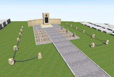Remont kwatery z I wojny światowej znajdującej sie na cmentarzu w Wielopolu Skrzyńskim wraz z zagospodarowaniem terenu