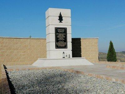 Remont kwatery z I wojny światowej znajdującej się na cmentarzu w Wielopolu Skrzyńskim wraz z zagospodarowaniem terenu - Etap II