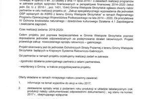 """Ogłoszenie o naborze partnerów do realizacji projektu pt.: """"Zakup specjalistycznego wyposażenia dla jednostek OSP wpisanych do KSRG z terenu Gminy Wielopole Skrzyńskie"""" - 201802714_0001.jpg"""
