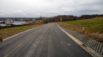 Budowa drogi gminnej Wielopole - Podliwek