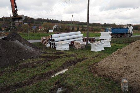 Budowa sieci kanalizacji sanitarnej w Wielopolu Skrzyńskim