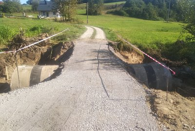 Modernizacja drogi dojazdowej do gruntów rolnych Fogry Wielopole na Tęczara