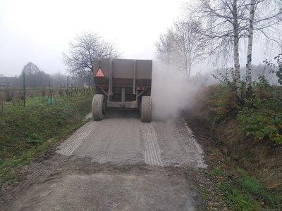 Modernizacja drogi Nawsie k. Traciak – Etap II.