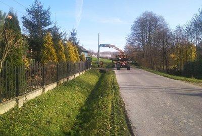 Budowa oświetlenia ulicznego w m. Broniszów