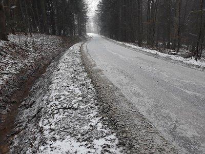 Przebudowa drogi Brzeziny - Berdechów - Szkoła