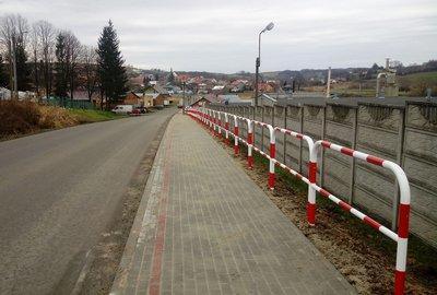 Przebudowa drogi powiatowej nr 1337R Sędziszów Małopolski – Bystrzyca – Wielopole Skrzyńskie poprzez budowę chodnika dla pieszych