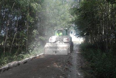 Przebudowa drogi gminnej nr 107718R Brzeziny Dół Północny