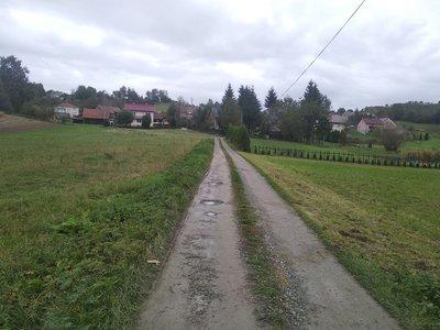 Przebudowa drogi Nawsie Kąt k. Świerad