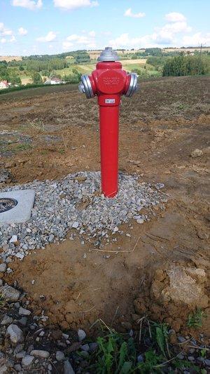 Budowa sieci wodociągowej w miejscowości Glinik – Zapole.