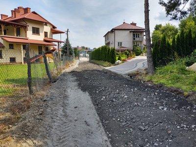 Modernizacja drogi wewnętrznej Wielopole – Grobla