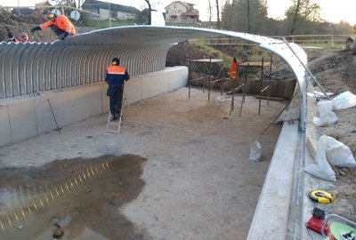 Przebudowa mostu w ciągu drogi gminnej nr 107748 R Brzeziny Dół Południowy wraz z dojazdami