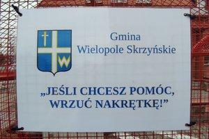 Pojemnik na nakrętki w Gminie Wielopole Skrzyńskie - 136477851_317306986266119_2009147892108246970_n1.jpg