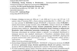 Umowy dotacji dla OSP Broniszów i OSP Brzeziny - skmbt_c454e20092511070.jpg