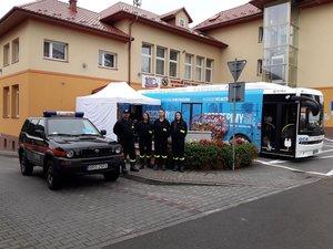 Podsumowanie akcji - Mobilny Punkt Szczepień w Gminie Wielopole Skrzyńskie