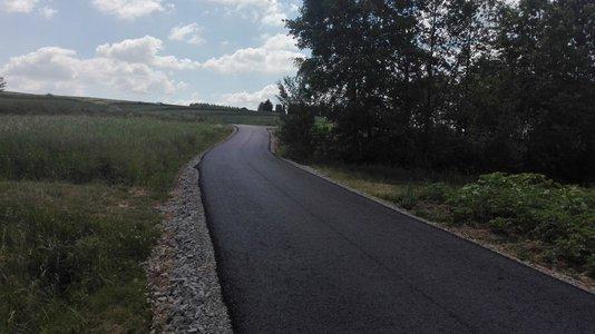 Przebudowa drogi Glinik Polny Gościniec - Szkodna w km 0+660 – 1+209 – III Etap