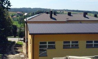 Dobudowa sali gimnastycznej przy Szkole Podstawowej w Gliniku