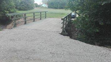 Remont mostu w ciągu drogi Brzeziny Rzeki