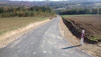 Przebudowa drogi Brzeziny Rzeki - Jaszczurowa