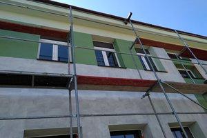 Inwestycja w trakcie realizacji (I Etap): ściany budynku - elewacja - 20170620_008.jpg