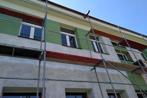 Inwestycja w trakcie realizacji (I Etap): ściany budynku - elewacja - 20170620_009.jpg