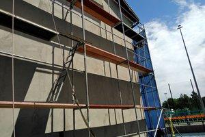Inwestycja w trakcie realizacji (I Etap): ściany budynku - elewacja - 20170628_006.jpg