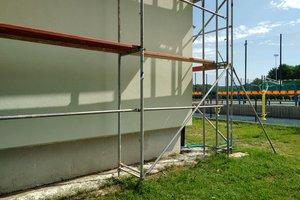 Inwestycja w trakcie realizacji (I Etap): ściany budynku - elewacja - 20170629_014.jpg