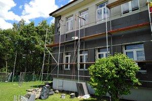 Inwestycja w trakcie realizacji (I Etap): ściany budynku - elewacja - 20170630_002.jpg