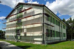 Inwestycja w trakcie realizacji (I Etap): ściany budynku - elewacja - 20170630_004.jpg