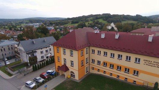 Termomodernizacja budynku Szkoły Podstawowej im. Tadeusza Marii Kantora w Wielopolu Skrzyńskim