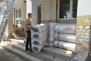 Inwestycja w trakcie realizacji: prace związane z ociepleniem elewacji budynku oraz zabezpieczeniem przeciw-wilgociowym i ociepleniem fundamentów - 20170816_002.jpg