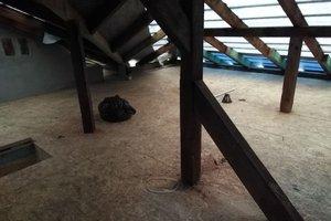 Inwestycja w trakcie realizacji: prace związane z wymianą pokrycia dachowego i ociepleniem stropu - 20170908_0013.jpg