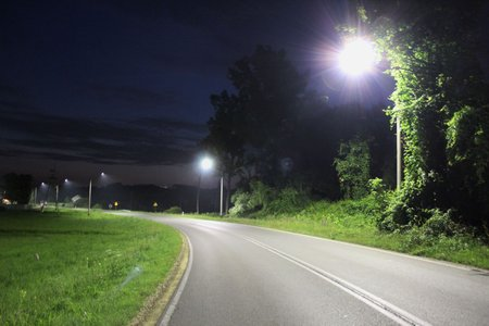 Budowa oświetlenia ulicznego w m. Wielopole Skrzyńskie  zasilanego ze stacji  TRAFO 17