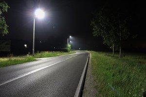 Budowa oświetlenia ulicznego w m. Glinik zasilanego ze stacji TRAFO 7