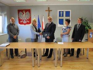 Podpisano umowę z Wykonawcą na budowę oczyszczalni ścieków w Wielopolu Skrzyńskim