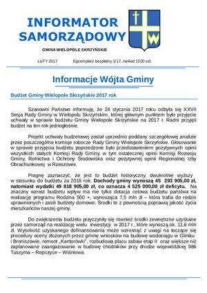 Informator Samorządowy - luty 2017