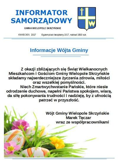 Informator Samorządowy - kwiecień 2017