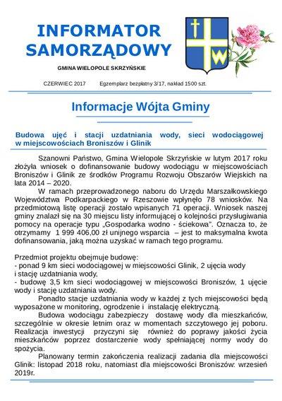 Informator Samorządowy - czerwiec 2017