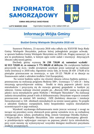 Informator Samorządowy - luty 2018