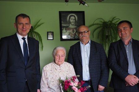 Jubileusz 100-lecia urodzin Pani Wiktorii Bożek z Nawsia