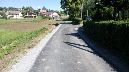 Przebudowa drogi Nawsie Kąt