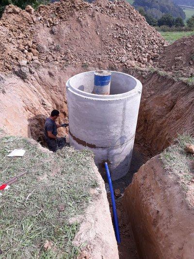 Budowa ujęcia i stacji uzdatniania wody w miejscowości Glinik