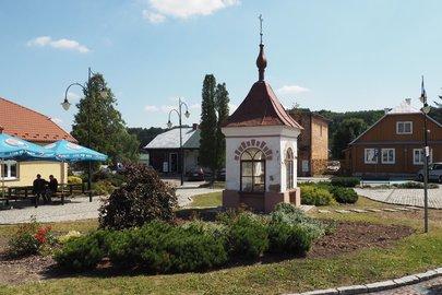 Remont konserwatorski zabytkowej kapliczki Św. Sebastiana i Św. Floriana w Wielopolu Skrzyńskim