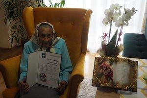 Jubileusz 100-lecia urodzin Pani Janiny Ochał  z Broniszowa