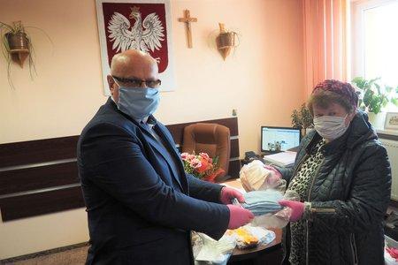Maseczki ochronne dla Urzędu Gminy Wielopole Skrzyńskie