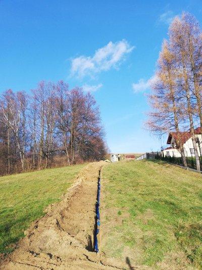 Budowa sieci wodociągowej w miejscowości Broniszów w ramach środków RPO WP