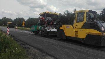 Przebudowa drogi wojewódzkiej nr 986 Tuszyma – Wiśniowa w miejscowości Wielopole Skrzyńskie, km 37+900 – 38+460
