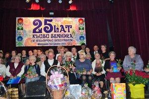 25 - lecie Klubu Seniora z Wielopola Skrzyńskiego